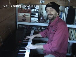 Neil Young's Walk On Cover on Piano and Harmonica