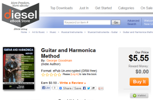 Guitar and Harmonica Method available at Diesel eBooks