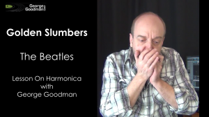 Learn how to play Golden Slumbers on harmonica