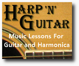 Music Lessons For Guitar and Harmonica