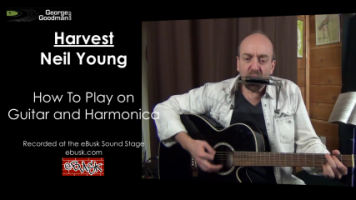 Learn how to play Neil Young's Harvest on guitar and harmonica