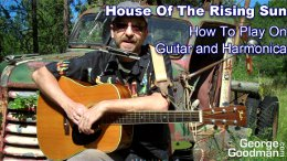 The House Of The Rising Sun Lesson on Guitar and Harmonica