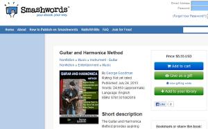 Guitar and Harmonica Method available at Smashwords.com