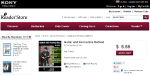 Guitar and Harmonica Method available at Sony eBooks store