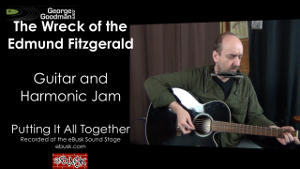 The Wreck of the Edmund Fitzgerald Guitar and Harmonica