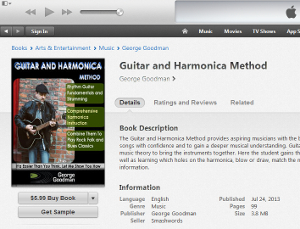 Guitar and Harmonica Method available at iTunes