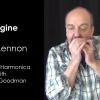 John Lennon's Image - Lesson on Harmonica