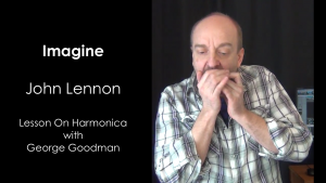 Learn how to play Imagine on harmonica